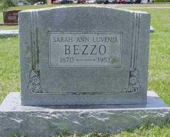 BEZZO, SARAH ANN LUVENIA - Pike County, Arkansas | SARAH ANN LUVENIA BEZZO - Arkansas Gravestone Photos