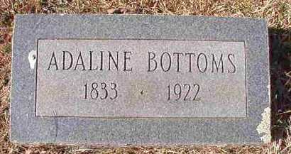 BOTTOMS, ADALINE - Pike County, Arkansas | ADALINE BOTTOMS - Arkansas Gravestone Photos
