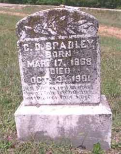 BRADLEY, C D - Pike County, Arkansas | C D BRADLEY - Arkansas Gravestone Photos