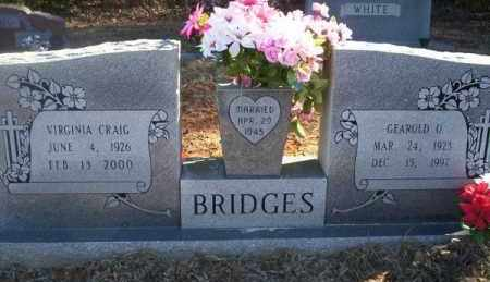 BRIDGES, GEAROLD O - Pike County, Arkansas | GEAROLD O BRIDGES - Arkansas Gravestone Photos
