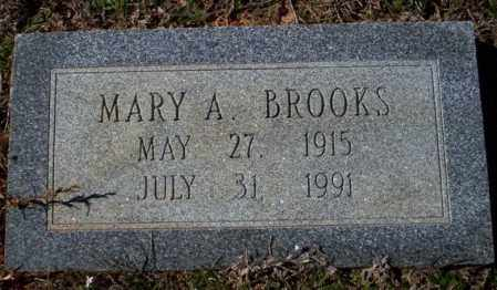 BROOKS, MARY A - Pike County, Arkansas | MARY A BROOKS - Arkansas Gravestone Photos