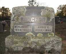 BUTCHER, ANNIE E - Pike County, Arkansas | ANNIE E BUTCHER - Arkansas Gravestone Photos