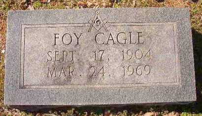 CAGLE, FOY - Pike County, Arkansas | FOY CAGLE - Arkansas Gravestone Photos