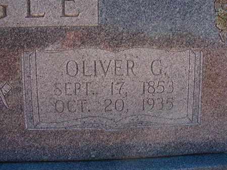 CAGLE, OLIVER G - Pike County, Arkansas | OLIVER G CAGLE - Arkansas Gravestone Photos