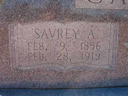 CAGLE, SAVREY A - Pike County, Arkansas | SAVREY A CAGLE - Arkansas Gravestone Photos