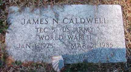 CALDWELL (VETERAN WWII), JAMES N - Pike County, Arkansas | JAMES N CALDWELL (VETERAN WWII) - Arkansas Gravestone Photos