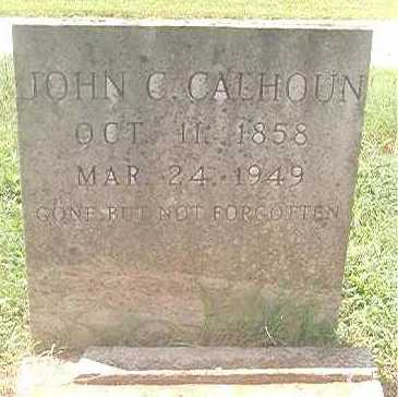 CALHOUN, JOHN C - Pike County, Arkansas | JOHN C CALHOUN - Arkansas Gravestone Photos