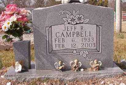 CAMPBELL, JEFF R - Pike County, Arkansas | JEFF R CAMPBELL - Arkansas Gravestone Photos