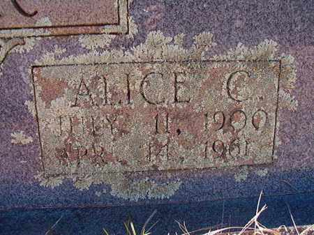 CANTER, ALICE C (CLOSE UP) - Pike County, Arkansas | ALICE C (CLOSE UP) CANTER - Arkansas Gravestone Photos