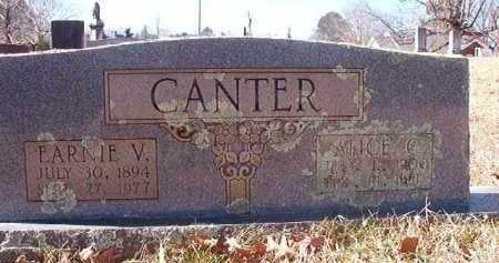 CANTER, EARNIE V - Pike County, Arkansas | EARNIE V CANTER - Arkansas Gravestone Photos