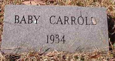 CARROLL, BABY - Pike County, Arkansas | BABY CARROLL - Arkansas Gravestone Photos