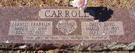 DAVIS CARROLL, DAISY - Pike County, Arkansas | DAISY DAVIS CARROLL - Arkansas Gravestone Photos