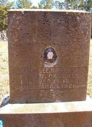 CARROLL, MARTHA LEE - Pike County, Arkansas | MARTHA LEE CARROLL - Arkansas Gravestone Photos