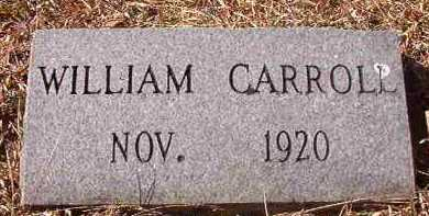 CARROLL, WILLIAM - Pike County, Arkansas | WILLIAM CARROLL - Arkansas Gravestone Photos