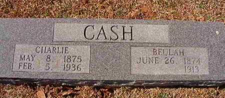CASH, CHARLIE - Pike County, Arkansas | CHARLIE CASH - Arkansas Gravestone Photos
