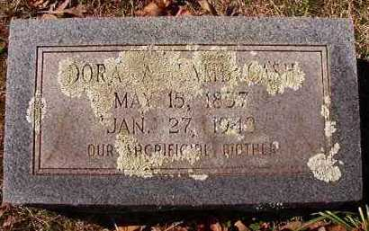 CASH, DORA A - Pike County, Arkansas | DORA A CASH - Arkansas Gravestone Photos