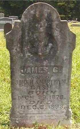 CASH, JAMES G - Pike County, Arkansas   JAMES G CASH - Arkansas Gravestone Photos