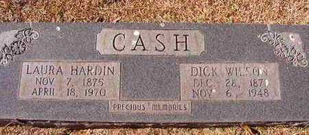 CASH, DICK WILSON - Pike County, Arkansas | DICK WILSON CASH - Arkansas Gravestone Photos