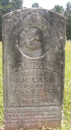 CASH, MARTHA M - Pike County, Arkansas | MARTHA M CASH - Arkansas Gravestone Photos