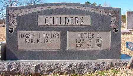 CHILDERS, LUTHER E - Pike County, Arkansas | LUTHER E CHILDERS - Arkansas Gravestone Photos