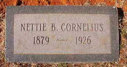 CORNELIUS, NETTIE B - Pike County, Arkansas | NETTIE B CORNELIUS - Arkansas Gravestone Photos