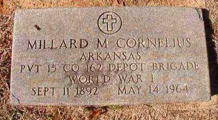 CORNELIUS (VETERAN WWI), MILLARD M - Pike County, Arkansas | MILLARD M CORNELIUS (VETERAN WWI) - Arkansas Gravestone Photos