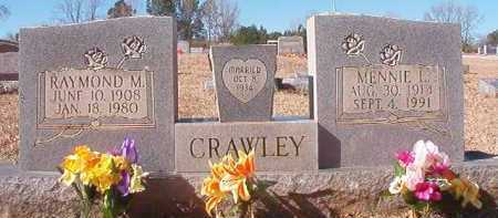 CRAWLEY, MENNIE L - Pike County, Arkansas | MENNIE L CRAWLEY - Arkansas Gravestone Photos