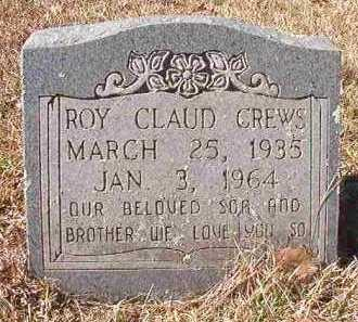 CREWS, ROY CLAUD - Pike County, Arkansas | ROY CLAUD CREWS - Arkansas Gravestone Photos