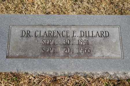 DILLARD, CLARENCE E. - Pike County, Arkansas | CLARENCE E. DILLARD - Arkansas Gravestone Photos