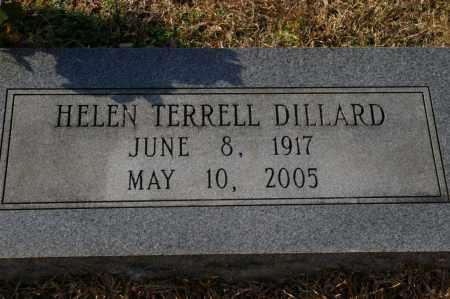 TERRELL DILLARD, HELEN - Pike County, Arkansas | HELEN TERRELL DILLARD - Arkansas Gravestone Photos