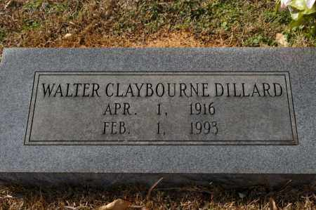 DILLARD, WALTER CLAYBOURNE - Pike County, Arkansas | WALTER CLAYBOURNE DILLARD - Arkansas Gravestone Photos