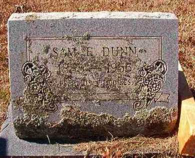 DUNN, SAM E - Pike County, Arkansas | SAM E DUNN - Arkansas Gravestone Photos