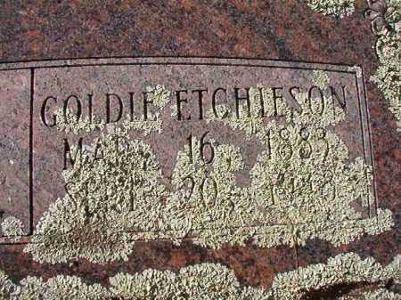 ETCHIESON, GOLDIE  (CLOSE UP) - Pike County, Arkansas | GOLDIE  (CLOSE UP) ETCHIESON - Arkansas Gravestone Photos
