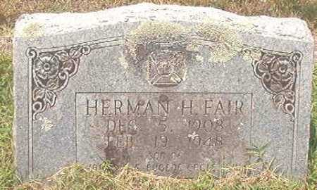 FAIR, HERMAN H - Pike County, Arkansas | HERMAN H FAIR - Arkansas Gravestone Photos