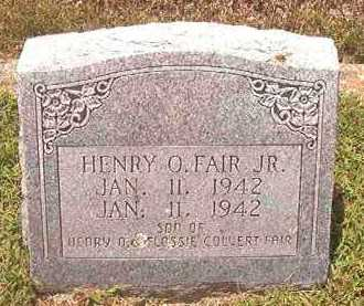 FAIR, HENRY O, JR - Pike County, Arkansas | HENRY O, JR FAIR - Arkansas Gravestone Photos