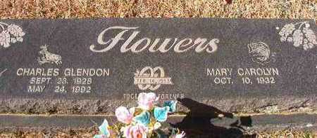 FLOWERS, CHARLES GLENDON - Pike County, Arkansas | CHARLES GLENDON FLOWERS - Arkansas Gravestone Photos