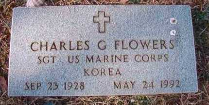 FLOWERS (VETERAN KOR), CHARLES G - Pike County, Arkansas | CHARLES G FLOWERS (VETERAN KOR) - Arkansas Gravestone Photos