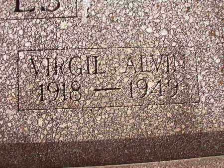 GATES, VIRGIL ALVIN - Pike County, Arkansas | VIRGIL ALVIN GATES - Arkansas Gravestone Photos
