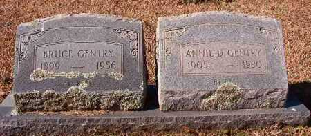 GENTRY, ANNIE D - Pike County, Arkansas | ANNIE D GENTRY - Arkansas Gravestone Photos