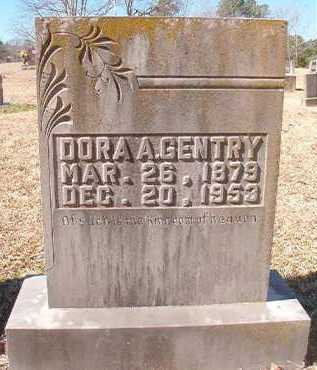 GENTRY, DORA A - Pike County, Arkansas | DORA A GENTRY - Arkansas Gravestone Photos