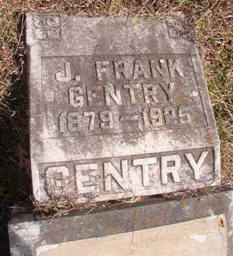 GENTRY, J FRANK - Pike County, Arkansas | J FRANK GENTRY - Arkansas Gravestone Photos