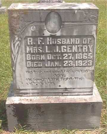 GENTRY, R F - Pike County, Arkansas | R F GENTRY - Arkansas Gravestone Photos