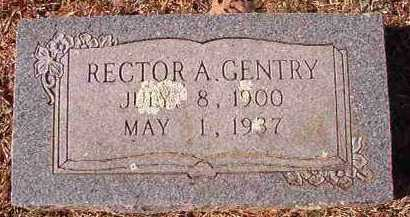 GENTRY, RECTOR A - Pike County, Arkansas | RECTOR A GENTRY - Arkansas Gravestone Photos