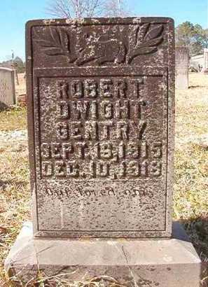 GENTRY, ROBERT DWIGHT - Pike County, Arkansas | ROBERT DWIGHT GENTRY - Arkansas Gravestone Photos