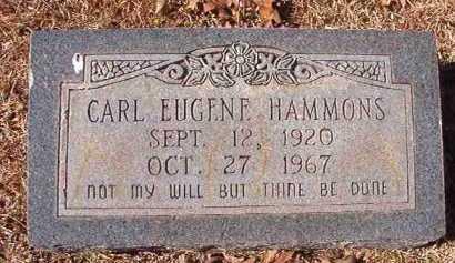 HAMMONS, CARL EUGENE - Pike County, Arkansas | CARL EUGENE HAMMONS - Arkansas Gravestone Photos
