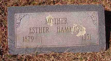 HAMMONS, ESTHER - Pike County, Arkansas | ESTHER HAMMONS - Arkansas Gravestone Photos