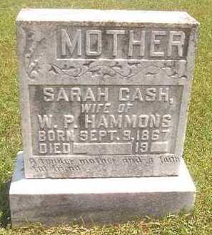 HAMMONS, SARAH - Pike County, Arkansas | SARAH HAMMONS - Arkansas Gravestone Photos