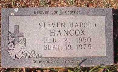 HANCOX, STEVEN HAROLD - Pike County, Arkansas | STEVEN HAROLD HANCOX - Arkansas Gravestone Photos