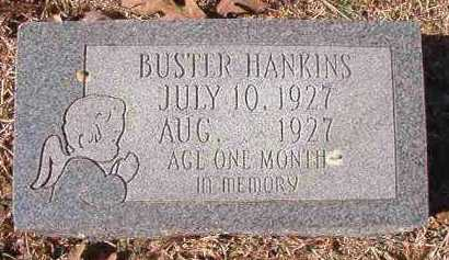HANKINS, BUSTER - Pike County, Arkansas | BUSTER HANKINS - Arkansas Gravestone Photos