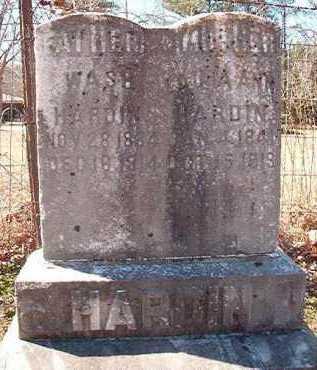 HARDIN, WASH - Pike County, Arkansas   WASH HARDIN - Arkansas Gravestone Photos